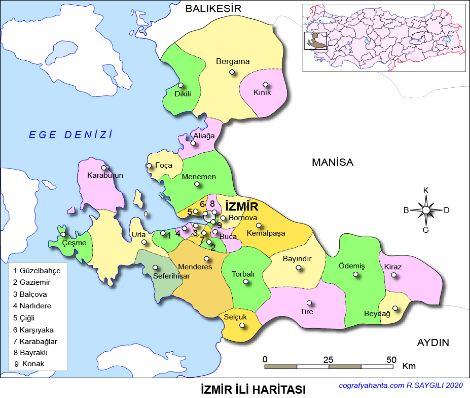 izmir haritası ile ilgili görsel sonucu