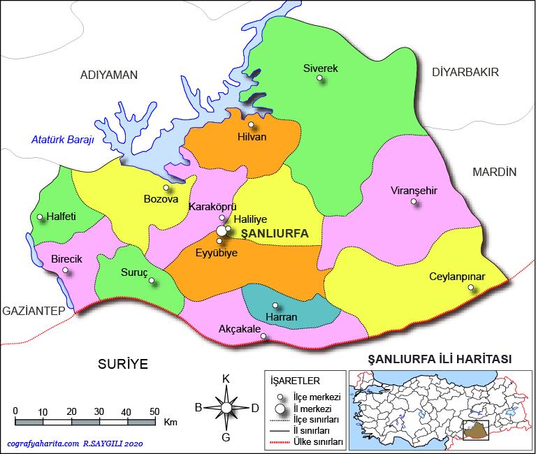şanlıurfa haritası ile ilgili görsel sonucu
